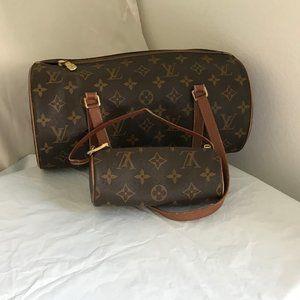 Louis Vuitton Papillon 30 (2 Bags In 1)